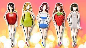 Типы женских фигур – подбираем гардероб по фигуре