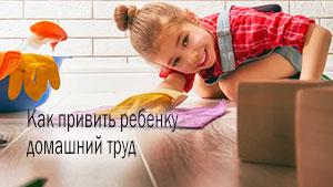 Как приучить ребенка к труду и порядку