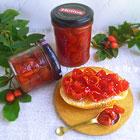 Варенье из ягод шиповника на зиму