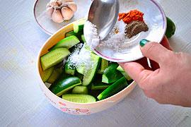 Огурцы по-корейски приготовление