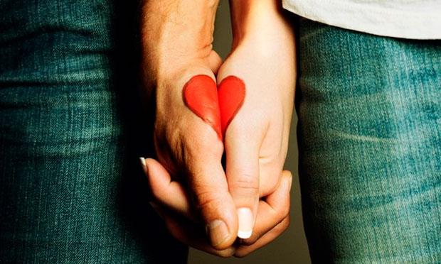 Парное тату для влюбленных