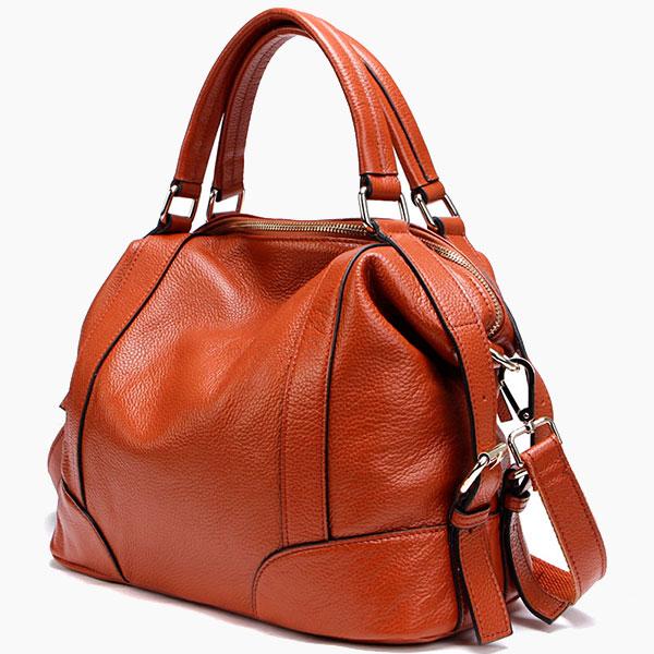 Модная сумка из кожи