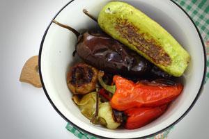 Печенные овощи