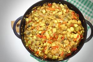 Рецепт икры из овощей