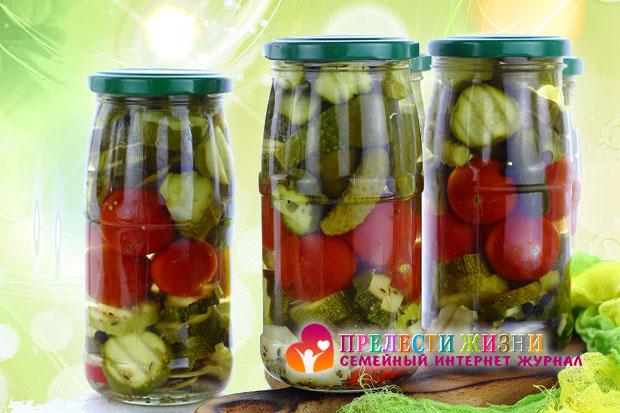 Маринованные овощи на зиму фото