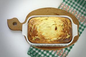 Вкусный пирог из творога с яблоками